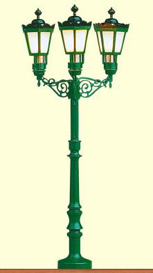 Brawa 5223 - H0 Park Light historic, 3-arm