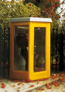 Brawa 5441 - H0 Telephone Box, illuminated