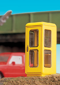 Brawa 5442 - H0 Telephone Box IV