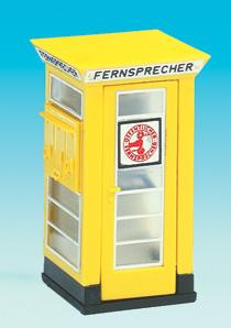 Brawa 5447 - H0 Telephone Box FH 32 III+IV