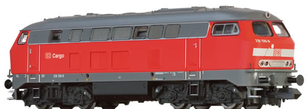Brawa 61213 - German Diesel Locomotive BR 216 of the DB-AG (Sound)