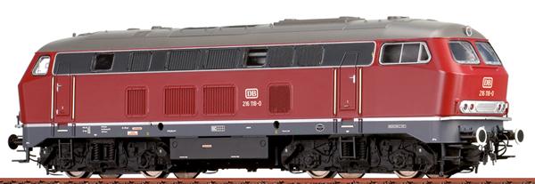 Brawa 61219 - German Diesel Locomotive 216 of the DB (Sound)