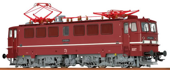 Brawa 63019 - German Electric Locomotive BR 211 of the DR