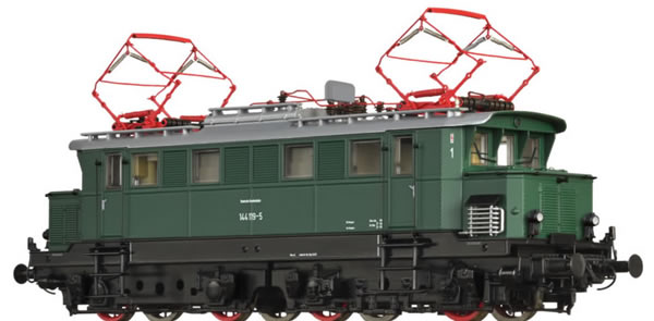 Brawa 63111 - German Electric Locomotive 144 of the DB (Sound)