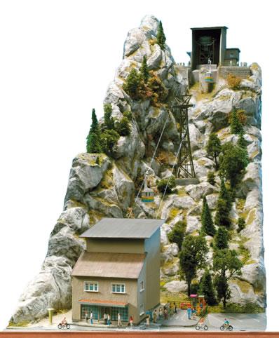 Brawa 6340 - H0 Nebelhorn Cableway