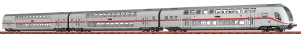 Brawa 64512 - 3pc Double Decker Passenger IC2-Set