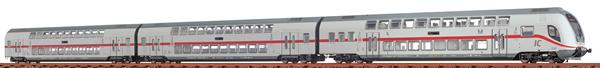 Brawa 64512 - 3pc Double Decker Passenger IC2-Set