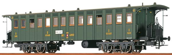 Brawa 65009 - Swiss Passenger Car BC4 of the SBB