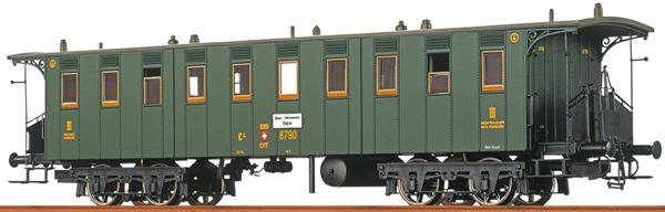 Brawa 65010 - Swiss Passenger Coach C4 of the SBB