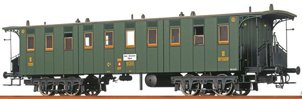 Brawa 65011 - Swiss Passenger Coach C4 of the SBB