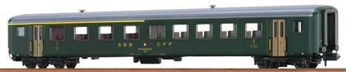 Brawa 65219 - Swiss Passenger Coach AB EW II of the SBB