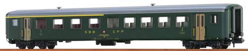 Brawa 65220 - Swiss Passenger Coach AB EW II of the SBB