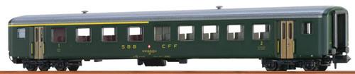 Brawa 65221 - Swiss Passenger Coach AB EW II of the SBB