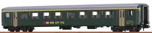Brawa 65222 - Swiss Passenger Coach A EW II of the SBB