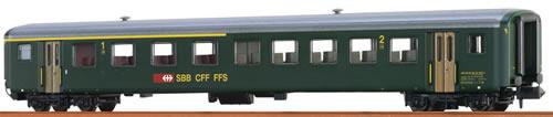 Brawa 65223 - Swiss Passenger Coach AB EW II of the SBB