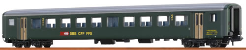 Brawa 65224 - Swiss Passenger Coach B EW II of the SBB