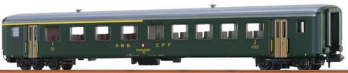 Brawa 65226 - Swiss Passenger Coach AB EW II of the SBB