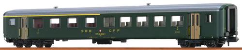 Brawa 65227 - Swiss Passenger Coach AB EW II of the SBB