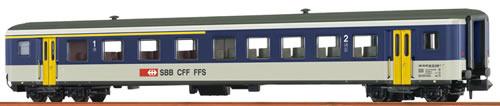 Brawa 65228 - Swiss Passenger Coach AB EW II of the SBB