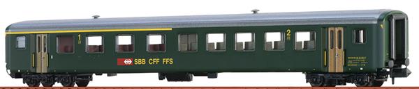 Brawa 65234 - N Passenger Coach EW II SBB, IV