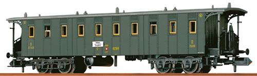 Brawa 65253 - Swiss Passenger Coach C4 of the SBB