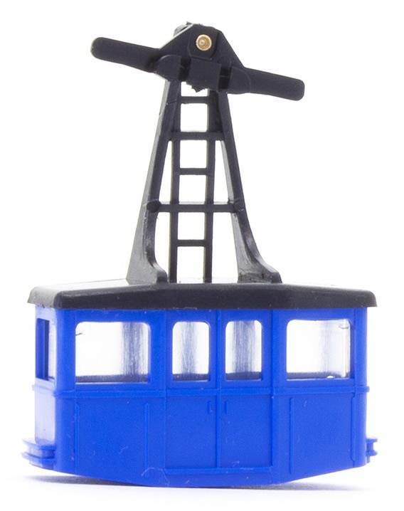 Brawa 6562 - N Single Cabin, blue