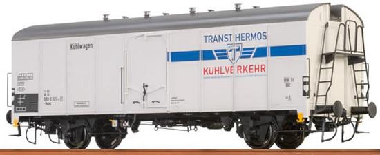 "Brawa 67110 - Refrigerator Car UIC Standard 1 ""Transthermos Kühlverkehr"" DB"