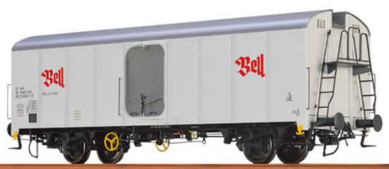 "Brawa 67111 - Refrigerator Car UIC Standard 1 ""Bell"" SBB"