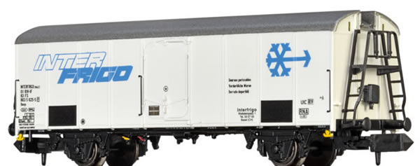 Brawa 67117 - Italian Refrigerator Car UIC Interfrigo of the FS