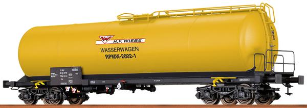 Brawa 67253 - Private Tank Car Wiebe for water