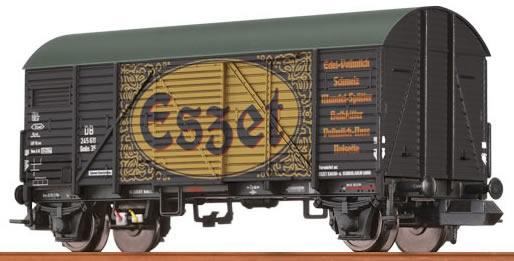 """Brawa 67302 - Covered Freight Car Gmhs 35 """"Eßzet"""" DB"""