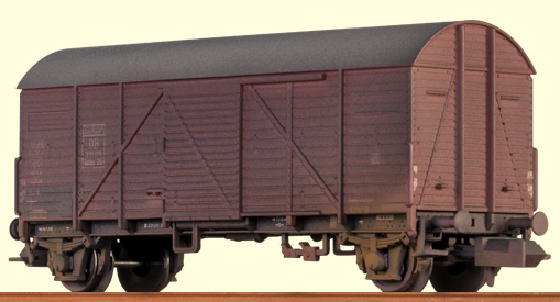 Brawa 67305 - Covered Freight Car Gmhs 35
