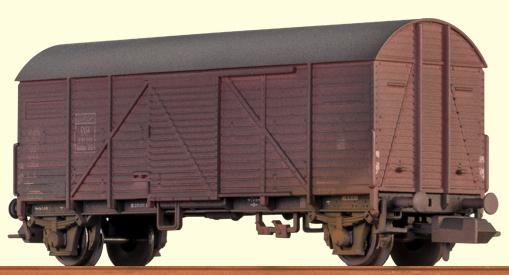 Brawa 67305 - Covered Freight Car Gmhs 35