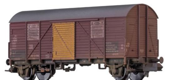 Brawa 67307 - German Box Car Gms TETRAETHYLBLEI of the DR (Weathered)