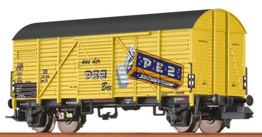 "Brawa 67309 - Covered Freight Car Gms 35 ""PEZ"" DB"