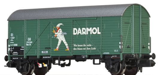 Brawa 67312 - German Freight Car Gms35 Darmol of the DB