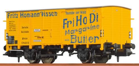 "Brawa 67406 - Covered Freight Car G 10 ""Fritz Homann"" DRG"