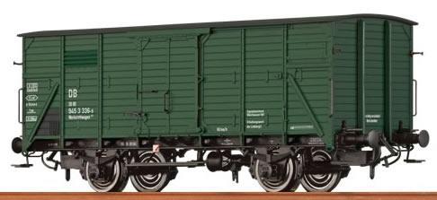 Brawa 67407 - Covered Freight Car G 10 DB, Bauzugwagen