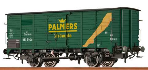 "Brawa 67415 - Covered Freight Car G 10 ""Palmers"" BBÖ"