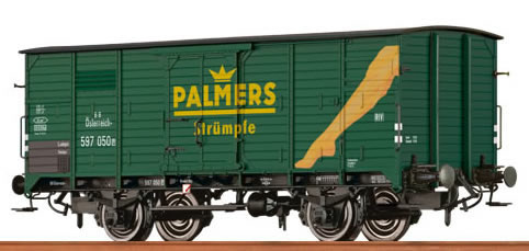 "Brawa 67415 - Covered Freight Car G 10 ""Palmers"" BBÖ"