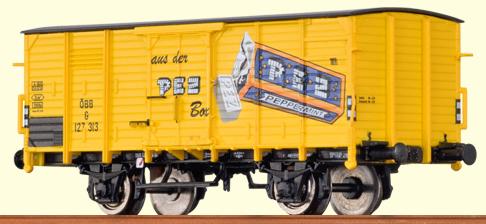Brawa 67421 - Boxcar G 10 PEZ
