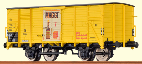 Brawa 67431 - Covered Freight car G 10 Maggi