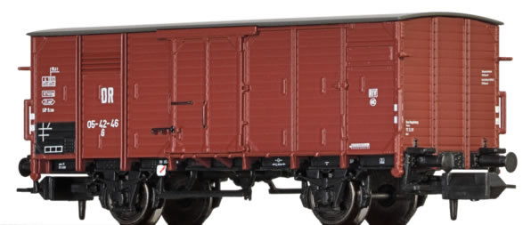 Brawa 67434 - German Covered Goods Wagon G of the DR