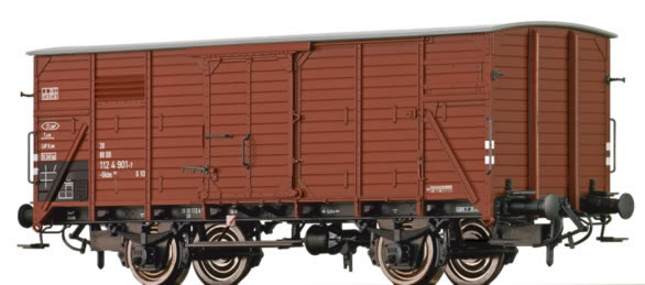 Brawa 67443 - German Covered Goods Wagon Gklm 191 of the DB