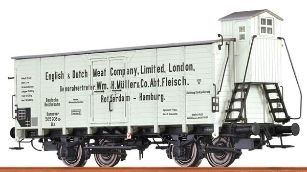 Brawa 67459 - German Reefer Car English&Dutch Meat of the DRG