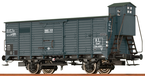 Brawa 67464 - French Covered Freight Car KUWF