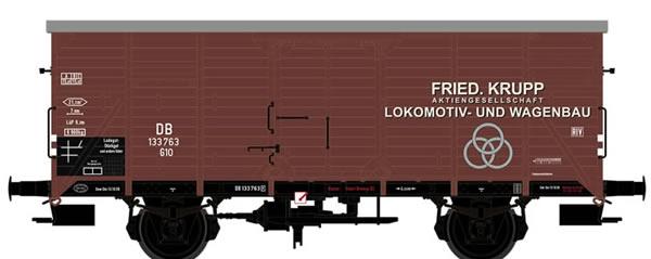 Brawa 67469 - Covered Freight Car G10 Krupp DB
