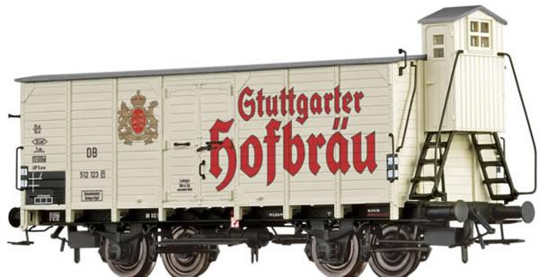 Brawa 67472 - Beer Car G10 Stuttgarter Hofbräu DB