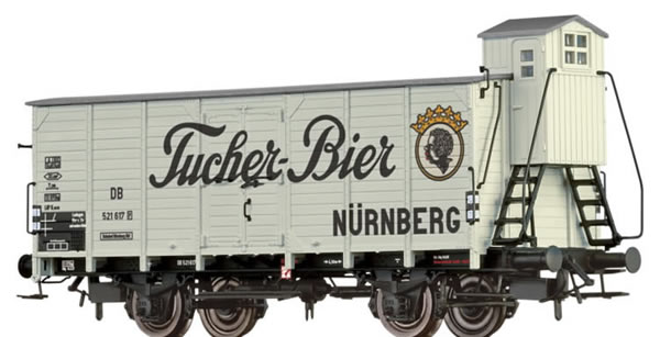 Brawa 67473 - Beer Car G10 Tucher Bier DB