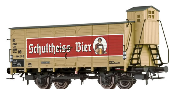 Brawa 67474 - Beer Car G10 Schultheiss (Berlin) DB